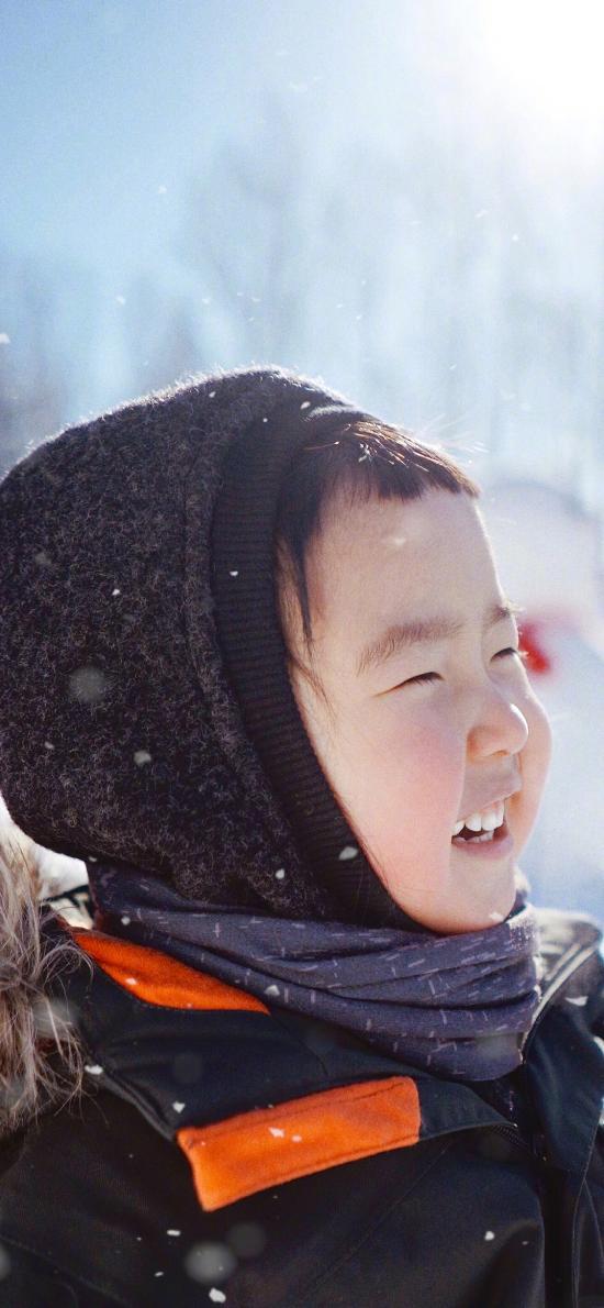 小蛮 小女孩 小网红 可爱 冬天 雪