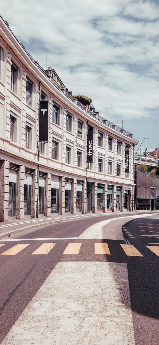 街道 城市 马路 建筑