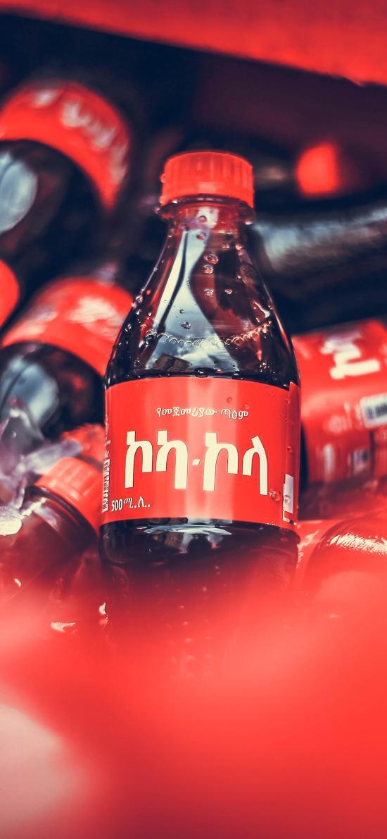 可乐 瓶装 汽水 碳酸饮料