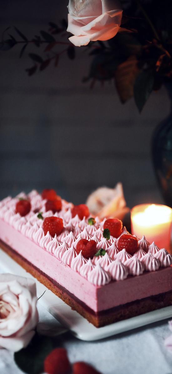 烘焙 甜品 蛋糕 树莓