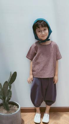 董泽宸 儿童 小男孩 潮服 童模
