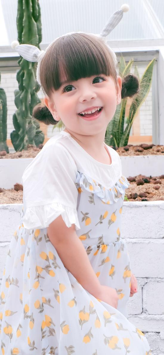 小女孩 可爱 萌 儿童