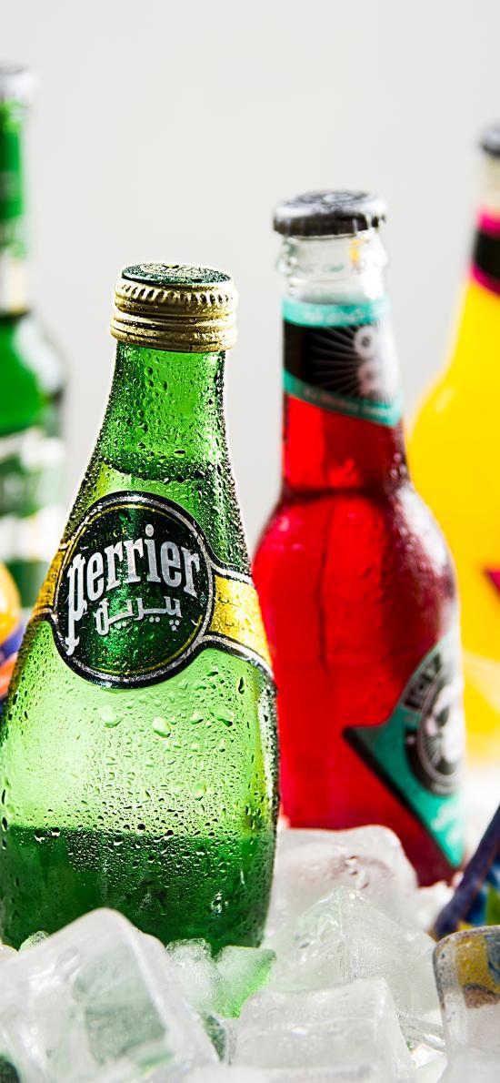 酒精饮料 冰镇 冰块 啤酒