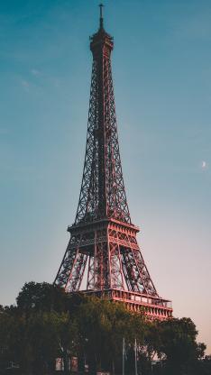 埃菲尔铁塔 法国 巴黎 地标