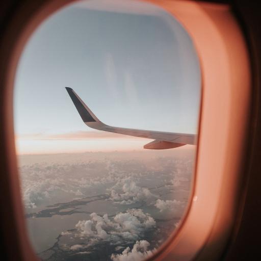 机窗 飞机 机尾 云空
