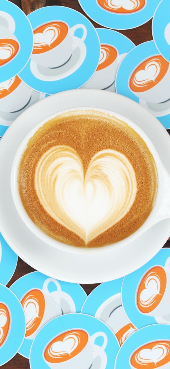 咖啡 拉花 饮品 杯具