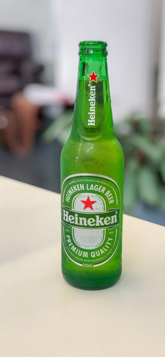Heineken 啤酒 饮品 品牌 绿色