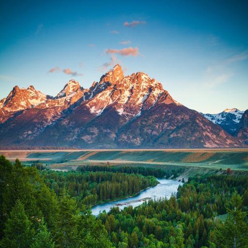 大自然 山河美景 植被