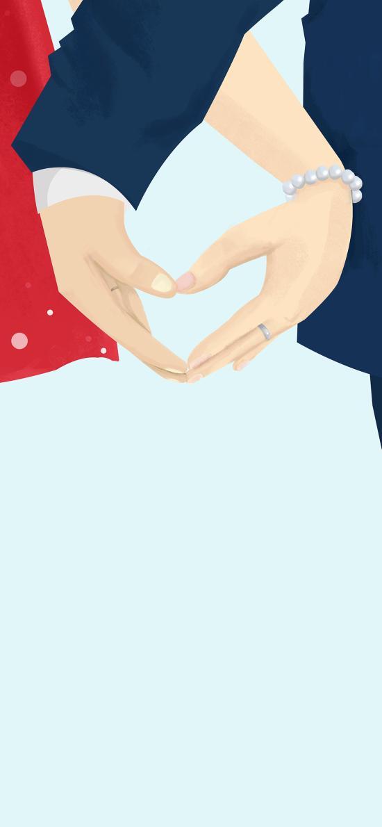 比心 爱心 爱情 浪漫 情侣