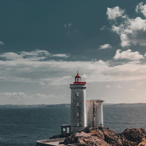 海边 建筑 灯塔 信号塔