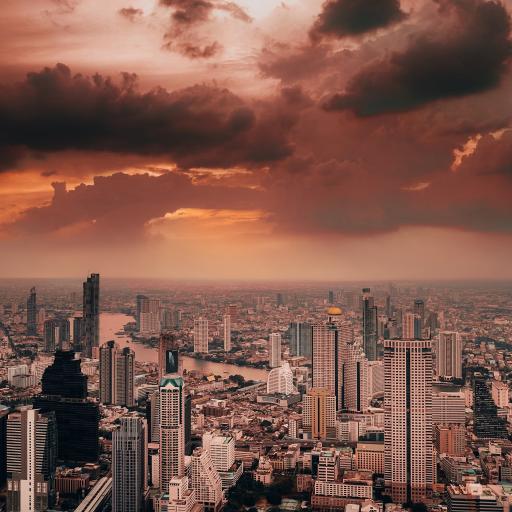 天空 建筑 城市 高楼