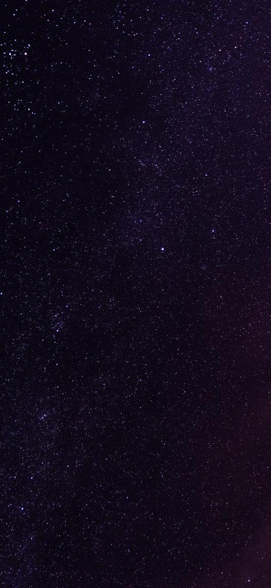 星空 璀璨 夜晚 星星