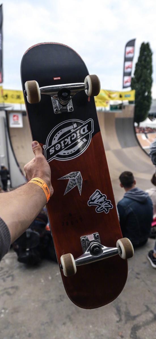 滑板 运动 户外 活力