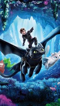 驯龙高手 隐秘的世界 电影 动画 海报