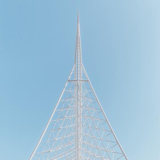 建筑 天空 蔚蓝 钢筋结构