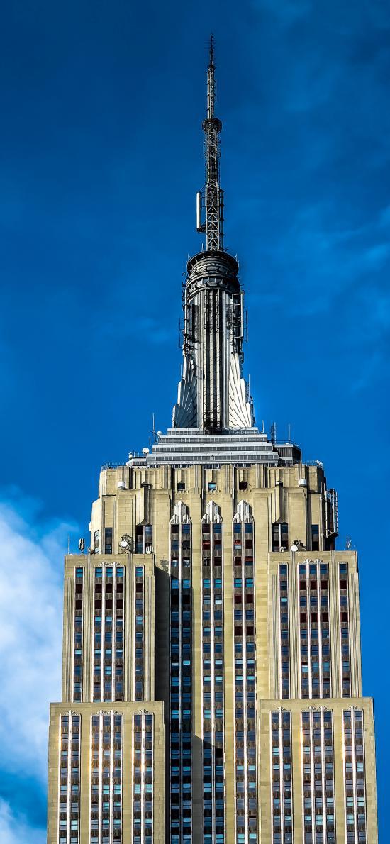 建筑 美国 地标 天空 高楼 帝国大厦