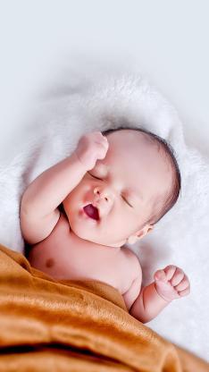 婴儿 宝宝 孩子 萌