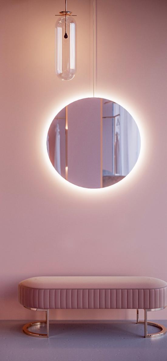 房间 空间设计 时尚 粉色调