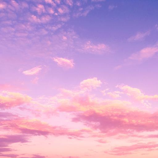 天空 渐变 粉色 唯美