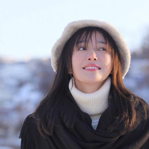 秦岚 演员 明星 艺人 冬季