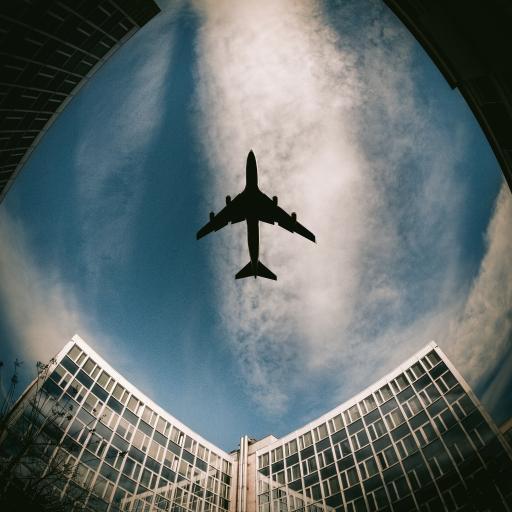飞机 飞行 航空 建筑 天空