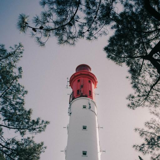 灯台 高处 建筑 塔楼