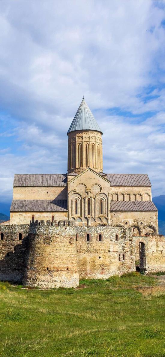 蓝天白云 景点 城堡 异域风情
