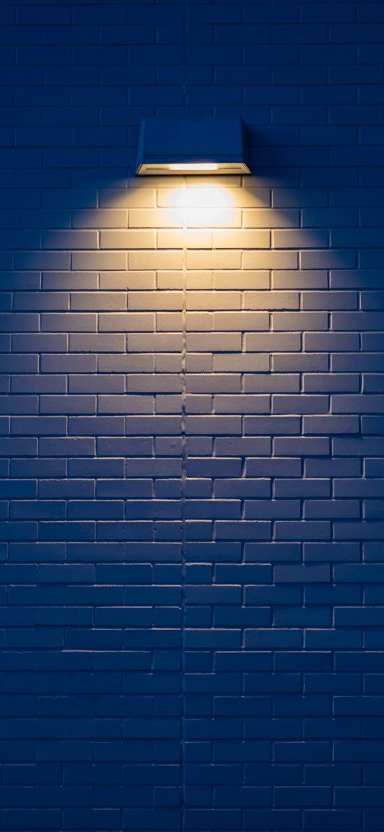 灯光 墙壁 砖墙 照明