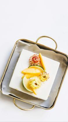 烘焙 甜品 水果蛋糕 柠檬 菠萝