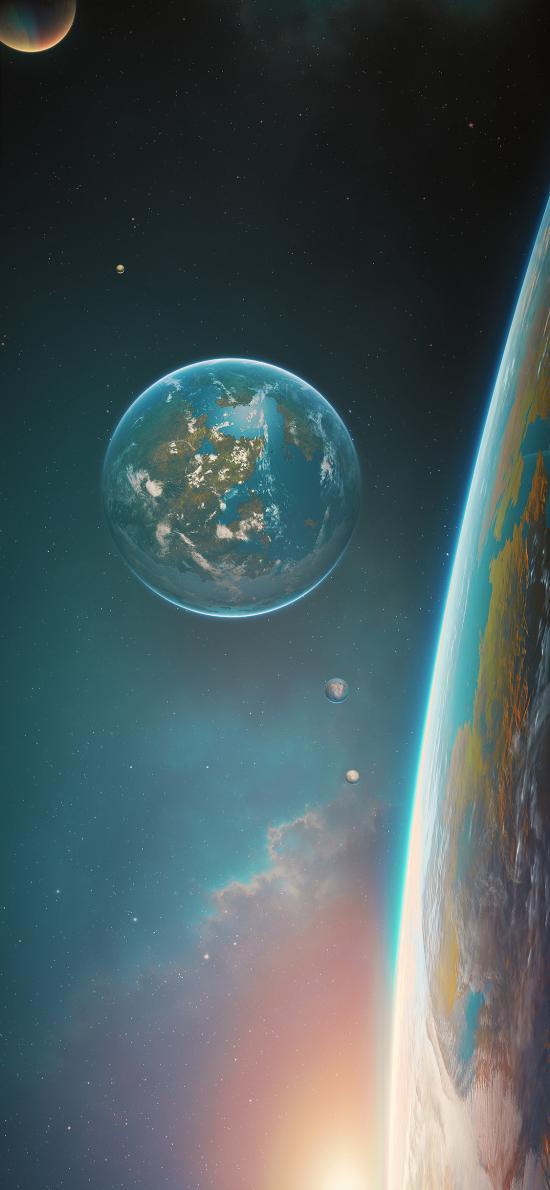 地球 星球 宇宙 太空 科学