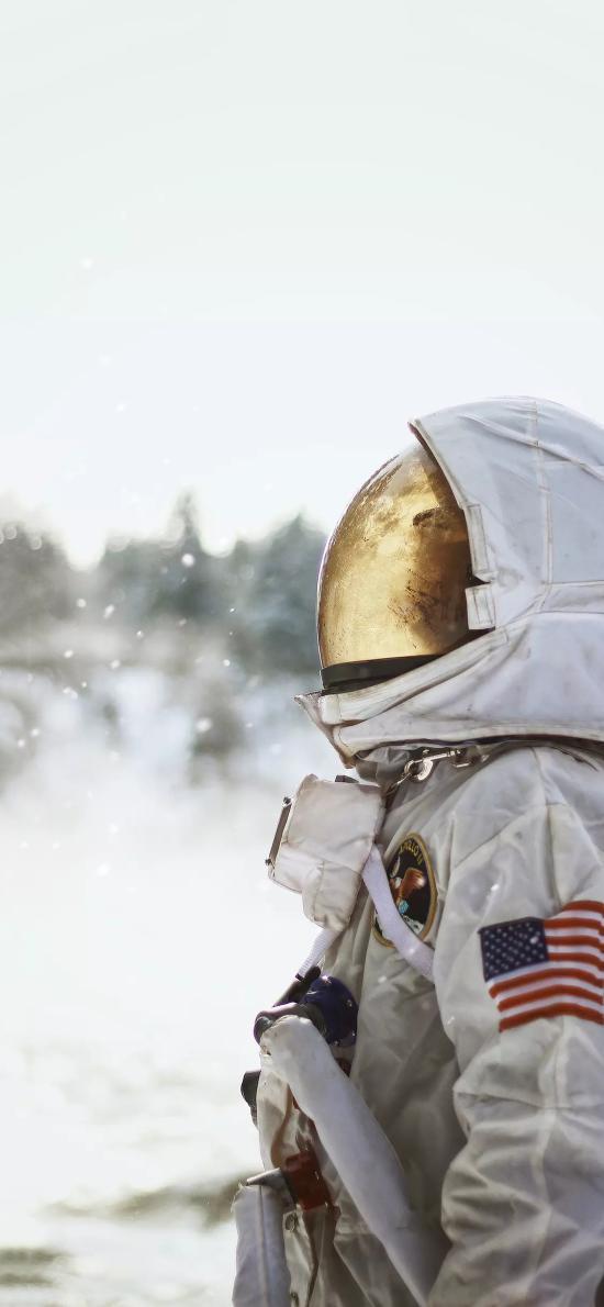 宇航员 太空服 宇宙 科学 探索