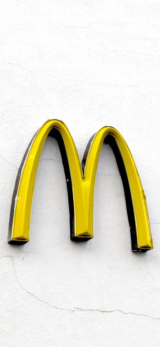 logo 麦当劳 M记 招牌