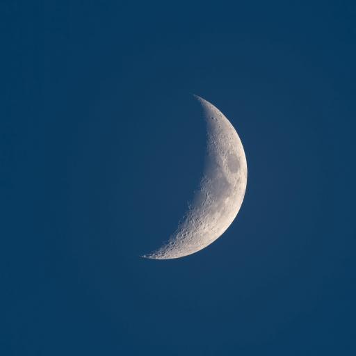 月亮 景色 星球 弯月