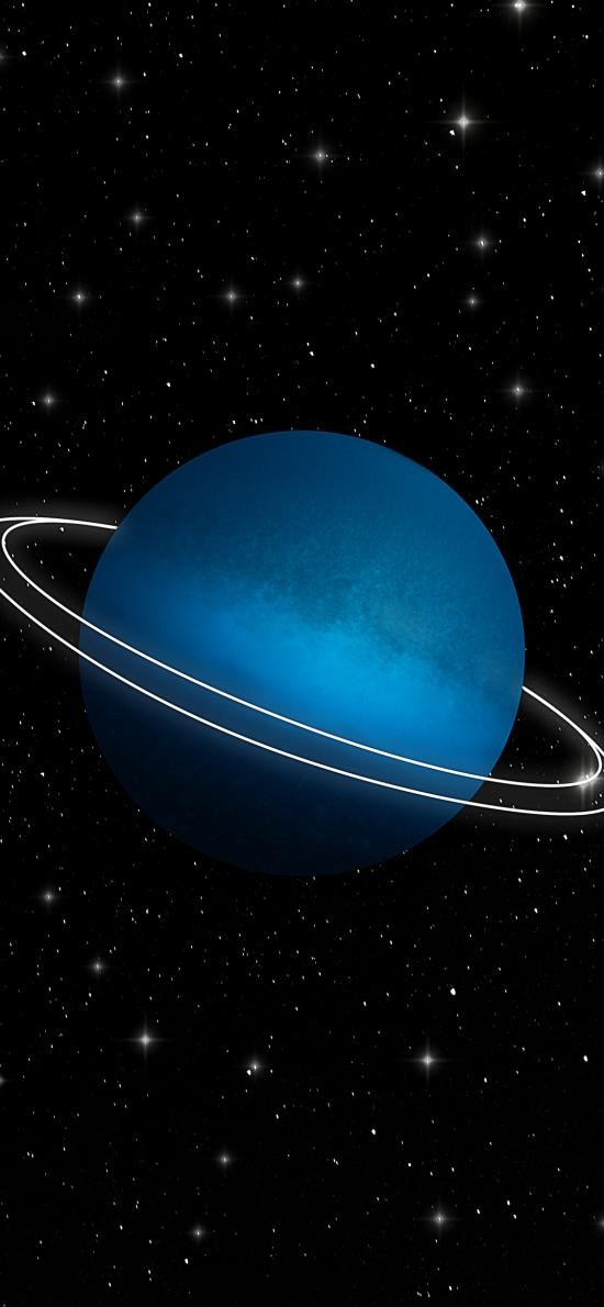 星球 宇宙 太空 光圈 星空