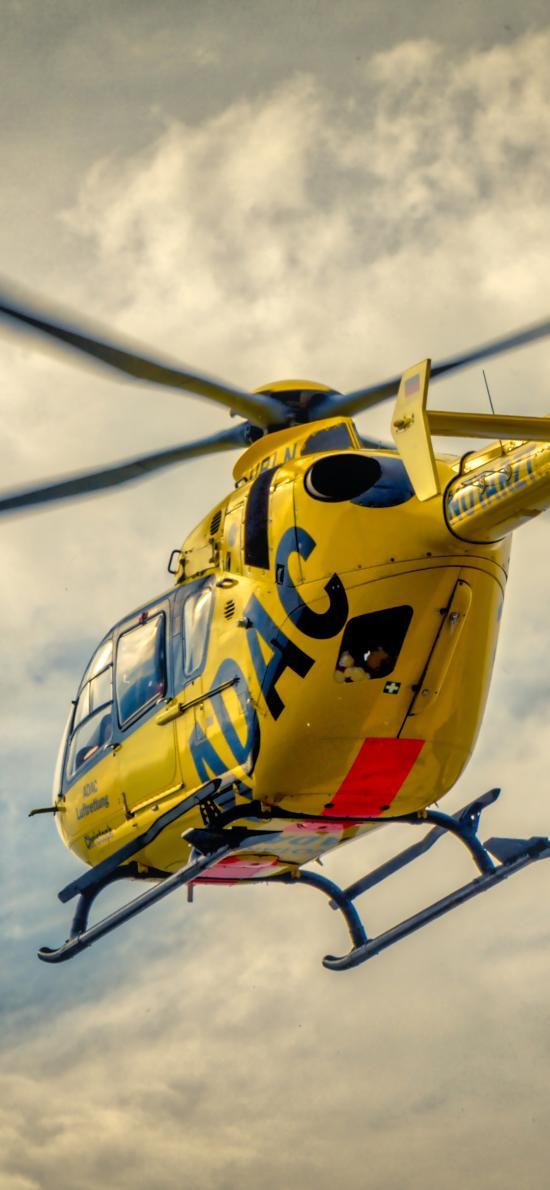 直升机 飞机 飞行 航空 螺旋桨