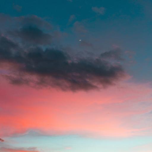 天空 夕阳 云彩 火烧云