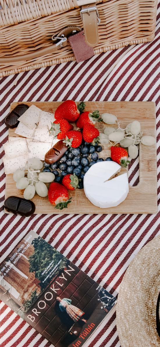水果 零食 蓝莓 草莓 饼干