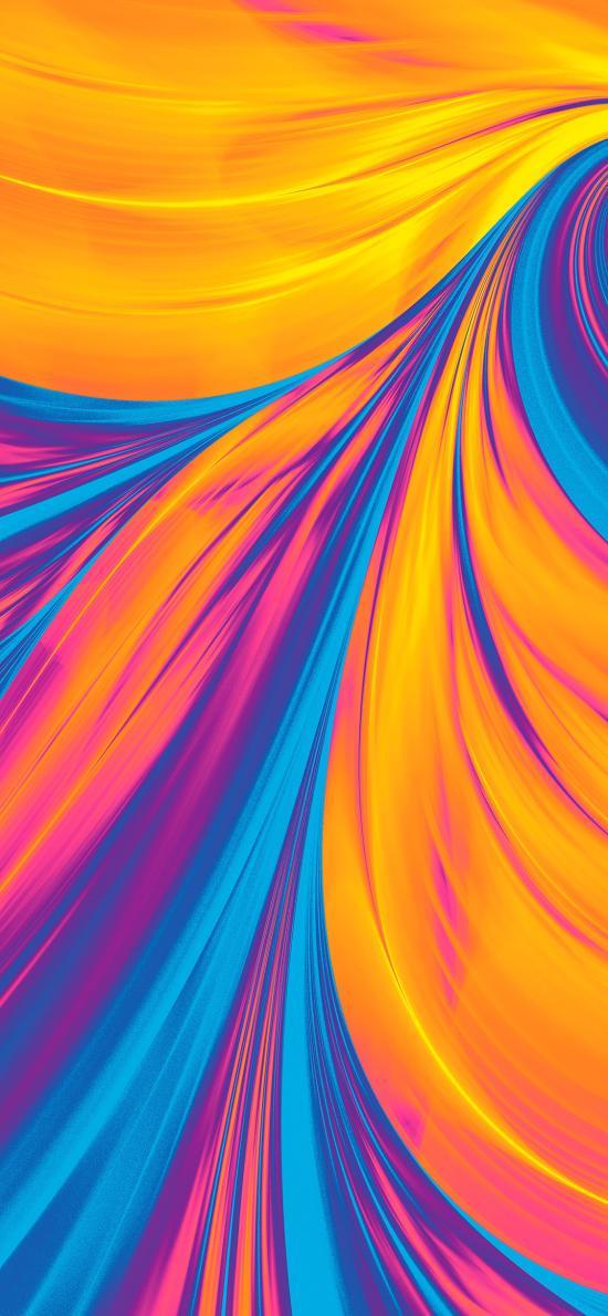炫丽 色彩 抽象 线条