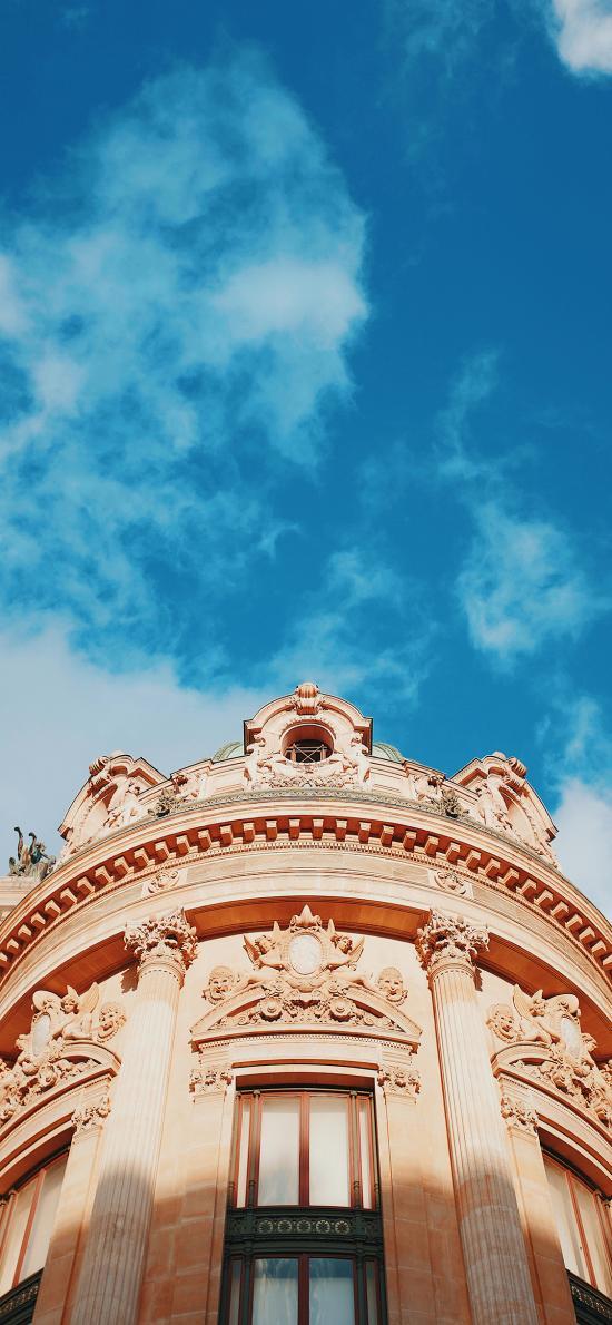 建筑 欧洲 法国巴黎 天空