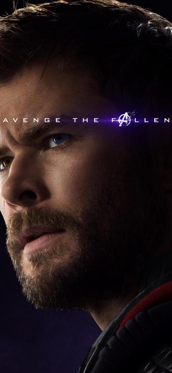 雷神 索尔 复仇者联盟4 终局之战 电影 欧美 超级英雄 海报
