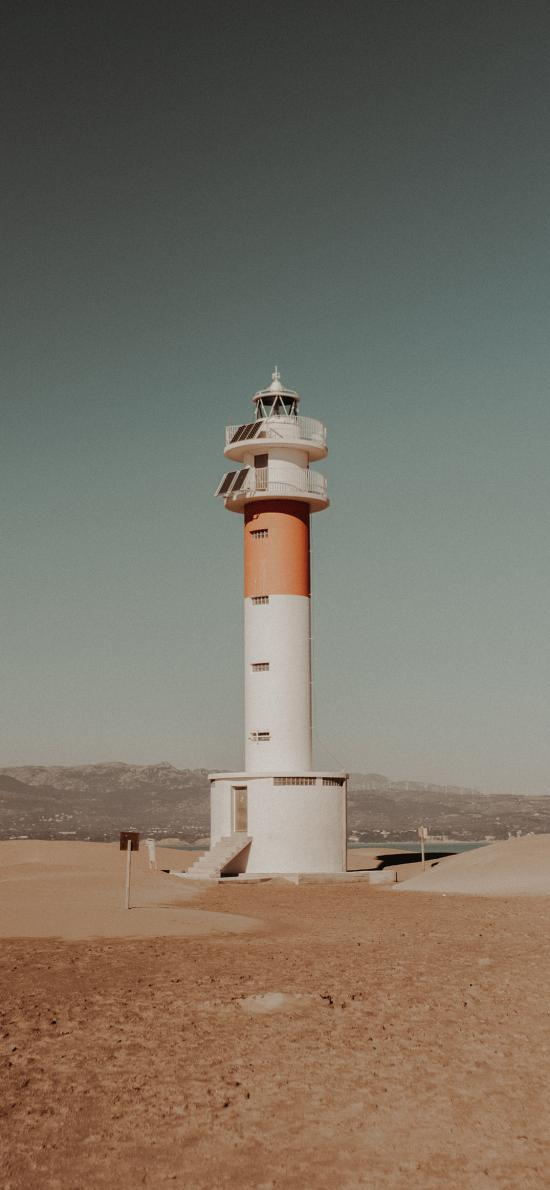 灯塔 高楼 建筑 荒漠
