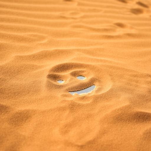 笑脸 沙漠 表情 黄色