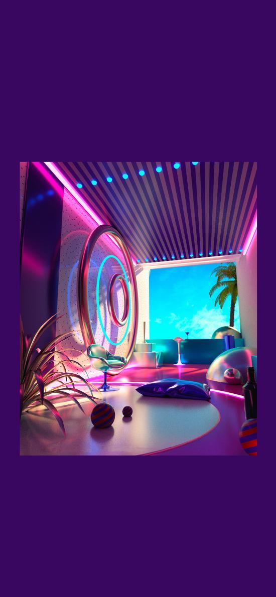 家居 设计 3D建模 色彩 空间