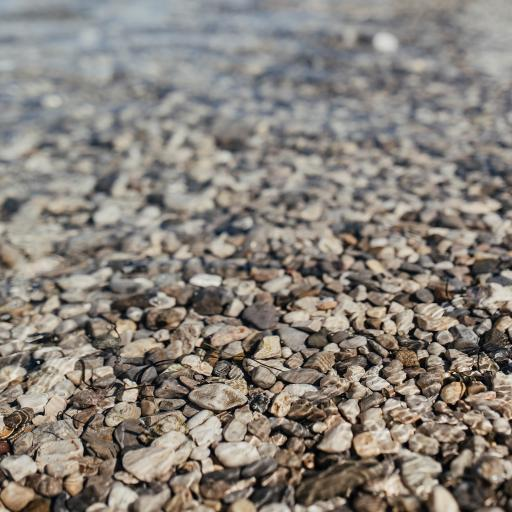 石头 河水 清澈 透明