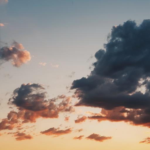云彩 景色 夕阳 天空
