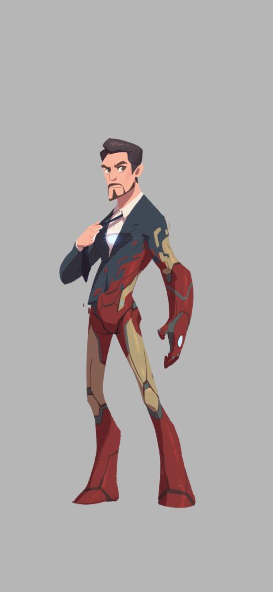 复仇者联盟 钢铁侠 托尼 手绘版