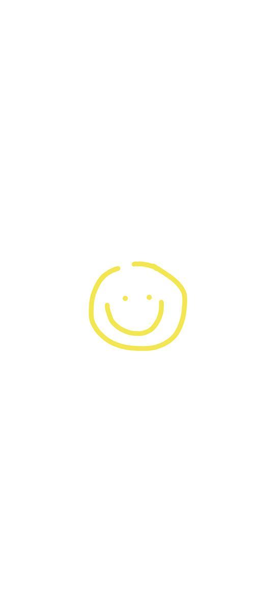 表情 笑脸 绘画 简笔画 白底