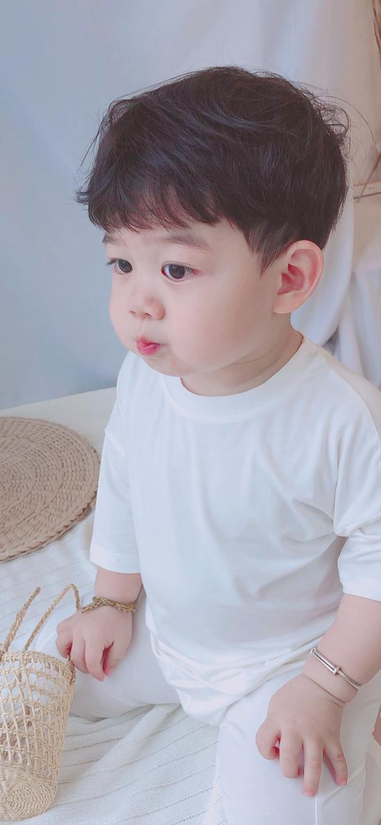 李浠晗 小男孩 可爱 儿童
