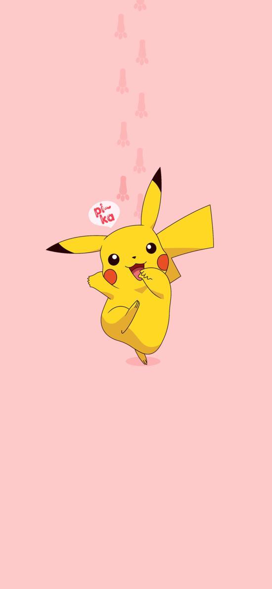 皮卡丘 粉色 日本 动画 卡通