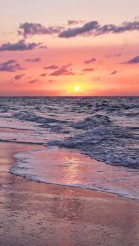 景色 大海 海岸 沙滩